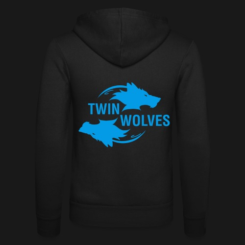 Twin Wolves Studio - Felpa con cappuccio di Bella + Canvas