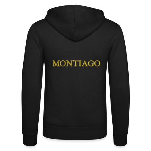 MONTIAGO LOGO - Unisex Hooded Jacket by Bella + Canvas