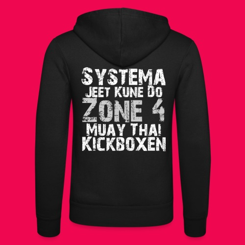 Martial Arts - Unisex Kapuzenjacke von Bella + Canvas
