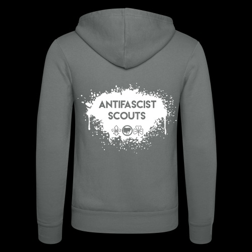 Antifascist Scouts - Unisex Hooded Jacket by Bella + Canvas