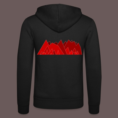 Simplistic Mountains - Unisex hættejakke fra Bella + Canvas