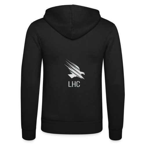 LHC Light logo - Unisex Hooded Jacket by Bella + Canvas
