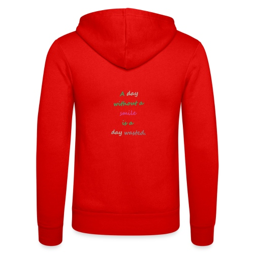 Say in English with effect - Unisex Hooded Jacket by Bella + Canvas