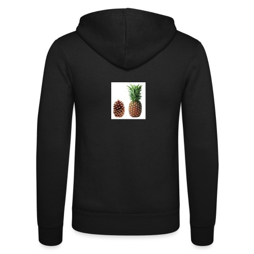 Pineapple - Unisex Hooded Jacket by Bella + Canvas