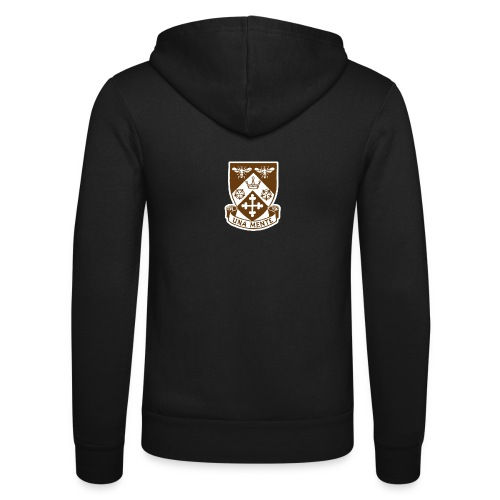 Borough Road College Tee - Unisex Hooded Jacket by Bella + Canvas