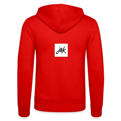 J K - Unisex Hooded Jacket by Bella + Canvas