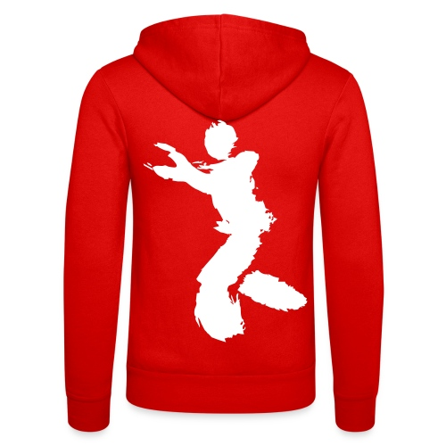 Wing Chun / Kung Fu Tusche Figur VEKTOR - Unisex Hooded Jacket by Bella + Canvas