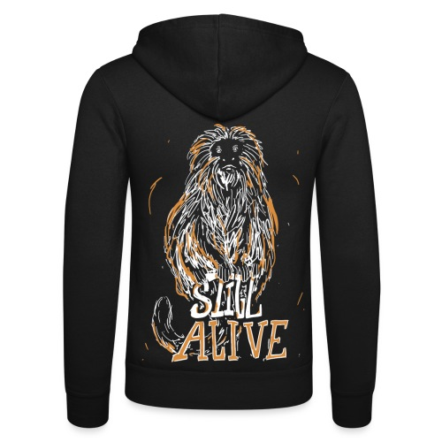 Still alive - Unisex Hooded Jacket by Bella + Canvas