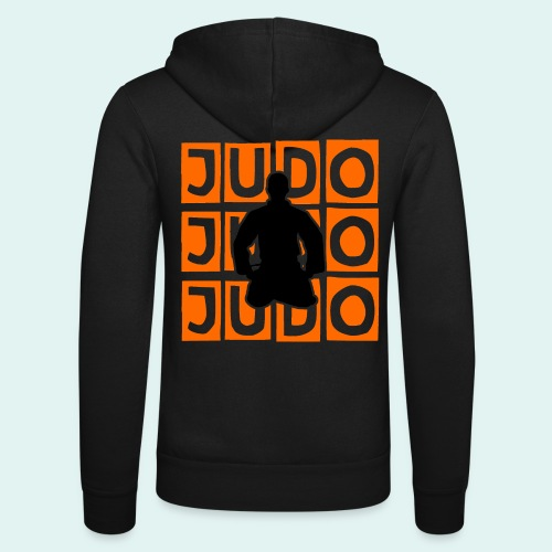 Motiv Judo Orange - Unisex Kapuzenjacke von Bella + Canvas