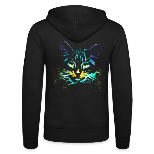 Vorschau: color kitty - Unisex Kapuzenjacke von Bella + Canvas