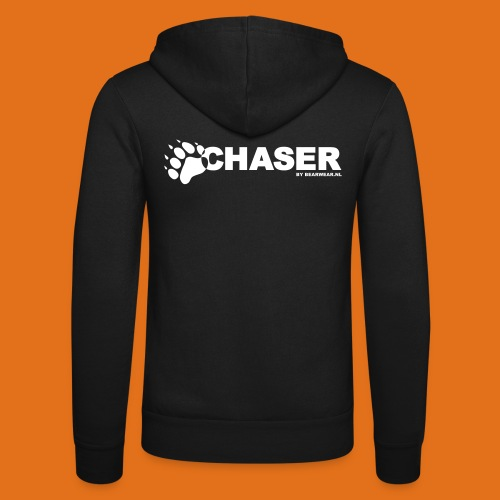 chaser by bearwear new - Unisex Hooded Jacket by Bella + Canvas