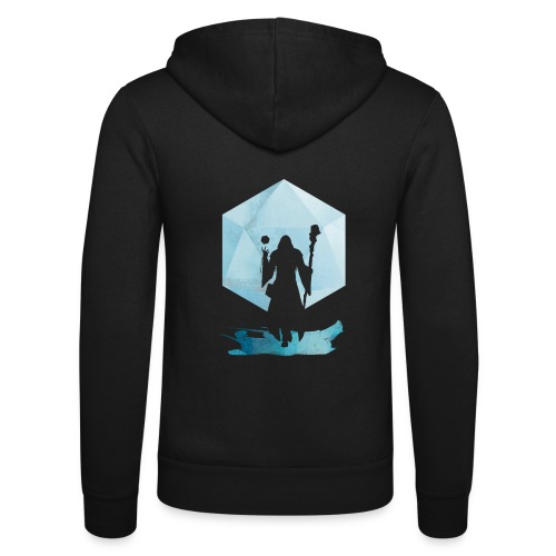 Legendaarinen Mage - Dungeons and Dragons d20 - Unisex Bella + Canvas -hupputakki