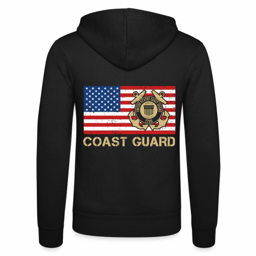 Coast Guard - Unisex Kapuzenjacke von Bella + Canvas