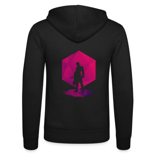 Shadow Assassin - Dungeons and Dragons d20 - Unisex hoodie van Bella + Canvas