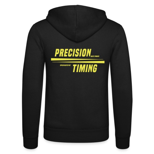PRECISION & TIMING - Unisex hættejakke fra Bella + Canvas