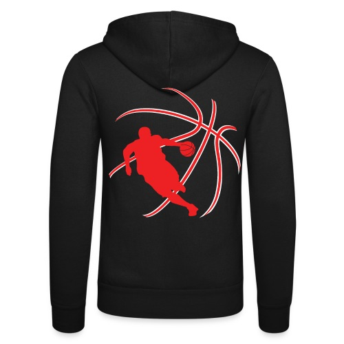 Basketball - Unisex Hooded Jacket by Bella + Canvas