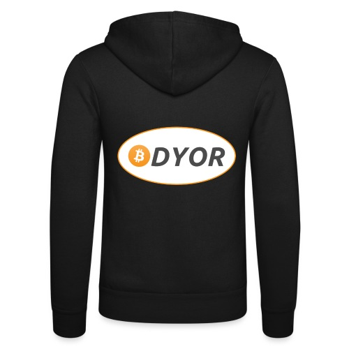 DYOR - option 2 - Unisex Hooded Jacket by Bella + Canvas