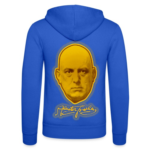 The Great Beast 666 - Aleister Crowley - Unisex Hooded Jacket by Bella + Canvas