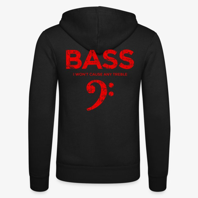 BASS I wont cause any treble (Vintage/Rot) Bassist