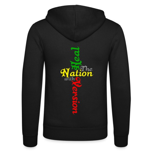 Reggae Healing Gears - Unisex Hooded Jacket by Bella + Canvas