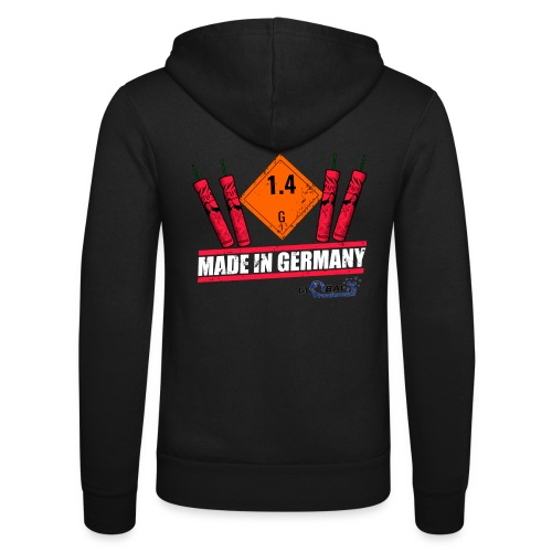 Global Fireworks 1.4G - Unisex Kapuzenjacke von Bella + Canvas
