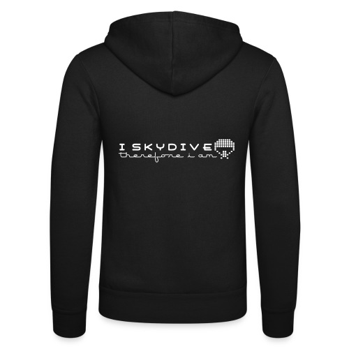 i_skydive_therefore_i_am - Unisex Hooded Jacket by Bella + Canvas