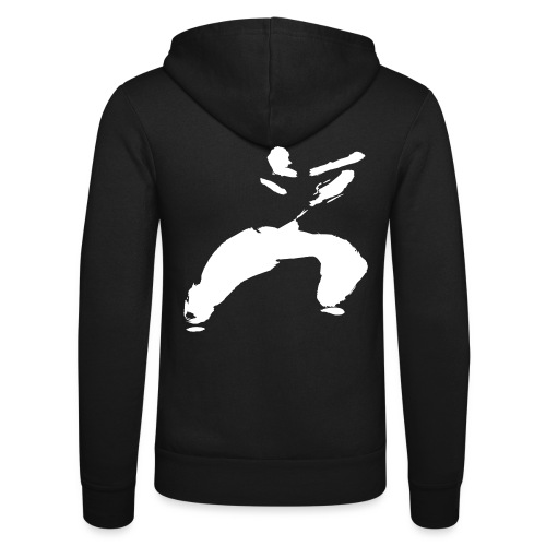 kung fu - Unisex Hooded Jacket by Bella + Canvas