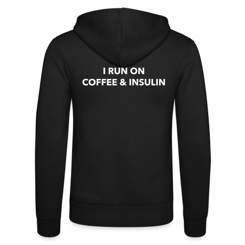 I Run on Coffee & Insulin v2 - Unisex Bella + Canvas -hupputakki
