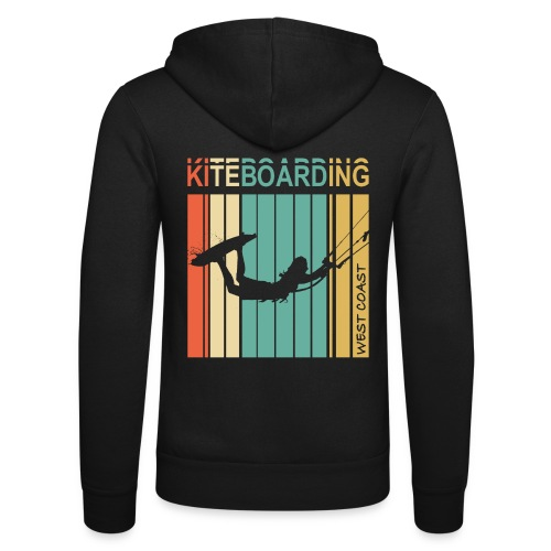 Kiteboarding WEST COAST - Veste à capuche unisexe Bella + Canvas