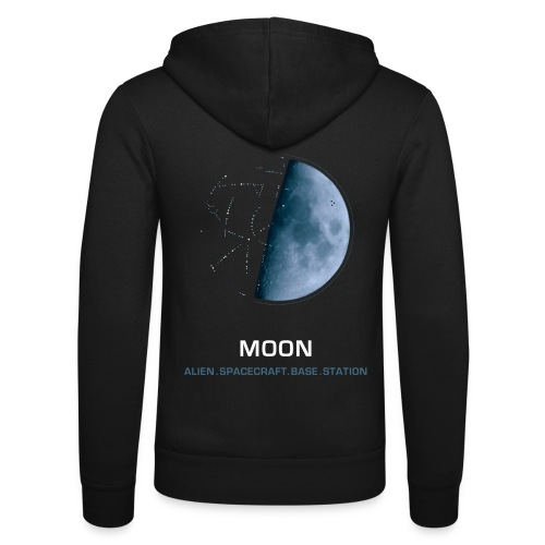 moon spacecraft design - Unisex Hooded Jacket by Bella + Canvas