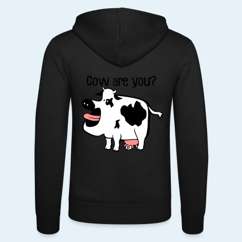 Cow are you? - Nuestra chaqueta con capucha de Bella + Canvas