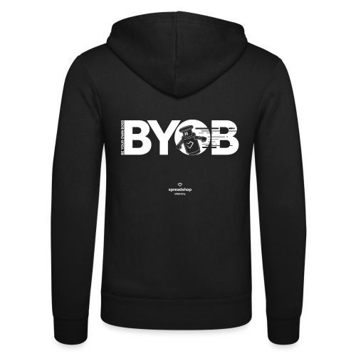 BYOB Robot - Unisex Hooded Jacket by Bella + Canvas