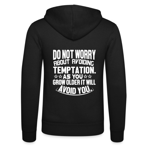 Do not worry - Unisex-hettejakke fra Bella + Canvas