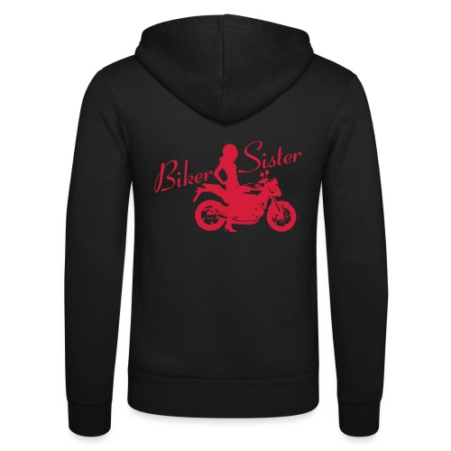Biker Sister - Naked bike - Unisex Bella + Canvas -hupputakki