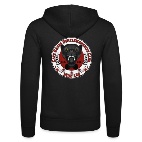 logopanthercrfcnew - Unisex Hooded Jacket by Bella + Canvas