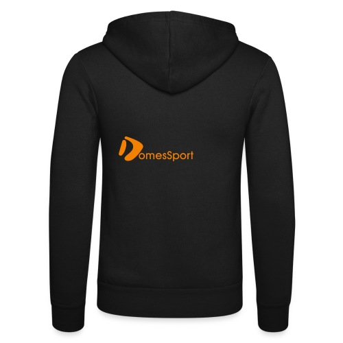 Logo DomesSport Orange noBg - Unisex Kapuzenjacke von Bella + Canvas