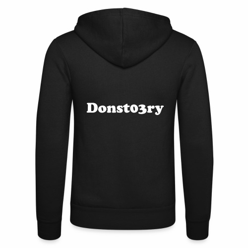 donst03ry name - Unisex Hooded Jacket by Bella + Canvas