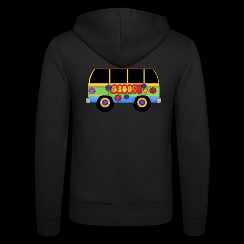 GROOVY BUS - Unisex Hooded Jacket by Bella + Canvas