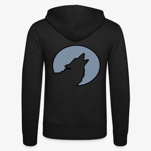 Moonwolf alt - Unisex Kapuzenjacke von Bella + Canvas