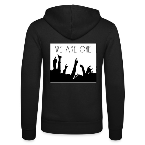 We Are One Hoody Women - Unisex hoodie van Bella + Canvas