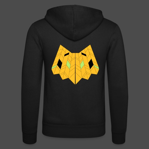 Owl Colour Redraw - Unisex Hooded Jacket by Bella + Canvas