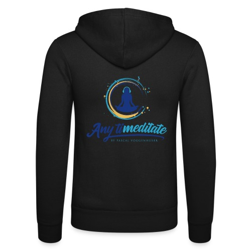 Any timeditate by Pascal Voggenhuber - Unisex Kapuzenjacke von Bella + Canvas