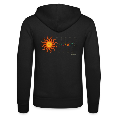 Solar System - Unisex Hooded Jacket by Bella + Canvas