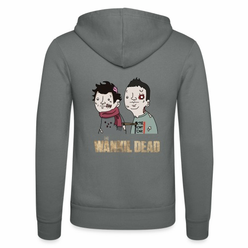 The Wankil Dead - Veste à capuche unisexe Bella + Canvas