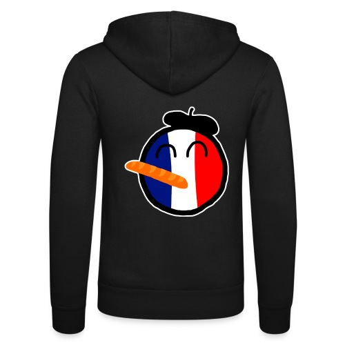 Franceball - Unisex Hooded Jacket by Bella + Canvas