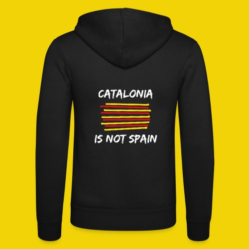 Catalonia Scratch - Unisex Hooded Jacket by Bella + Canvas