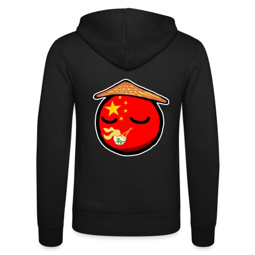 Chinaball - Unisex Hooded Jacket by Bella + Canvas