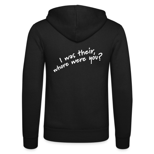 Dyslexic I was there - Unisex hoodie van Bella + Canvas