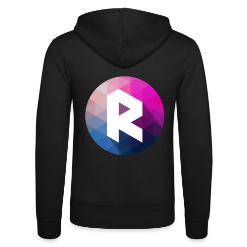 radiant logo - Unisex Hooded Jacket by Bella + Canvas
