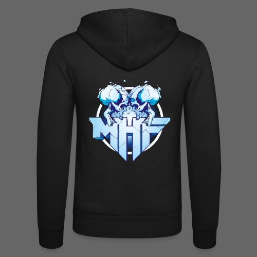 MHF New Logo - Unisex Hooded Jacket by Bella + Canvas